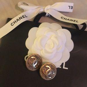 Vintage Chanel Clip Earrings